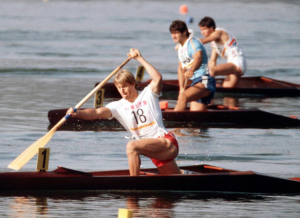 1984 Olympic Games C1 1000m heat