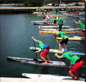 Eastern Canadian SUP Championships 2012 in Oakville Harbour